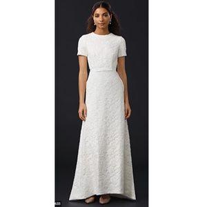 NWT Self Portrait White Rose Bridal Wedding Dress